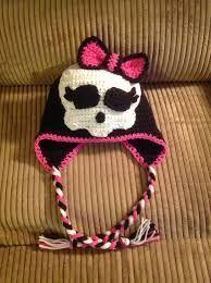 monster high crochet hat - Buscar con Google