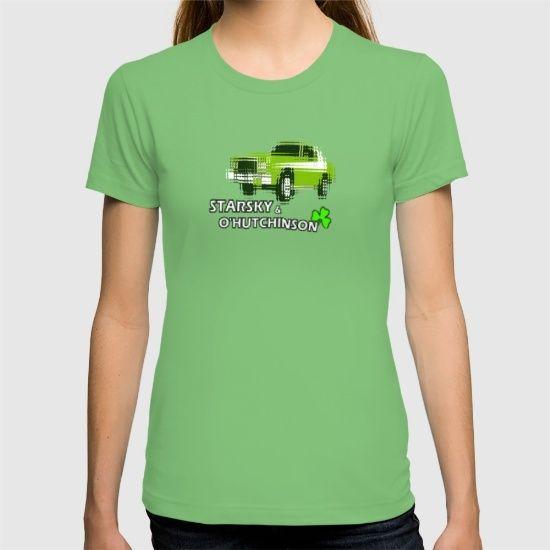 Starsky & O'Hutchinson T-shirt @society6  #hutchinson #graphic-design  #digital  #typography  #pop-art   #greenery  #shamrock  #stpatricksday  #stpaddysday #cars #hutchinson #starskyandhutch #hutch #humor  #drink   #1970s  #nerd #funtees #irishtshirts #ireland #irishcars #society6paddysday #grantorino