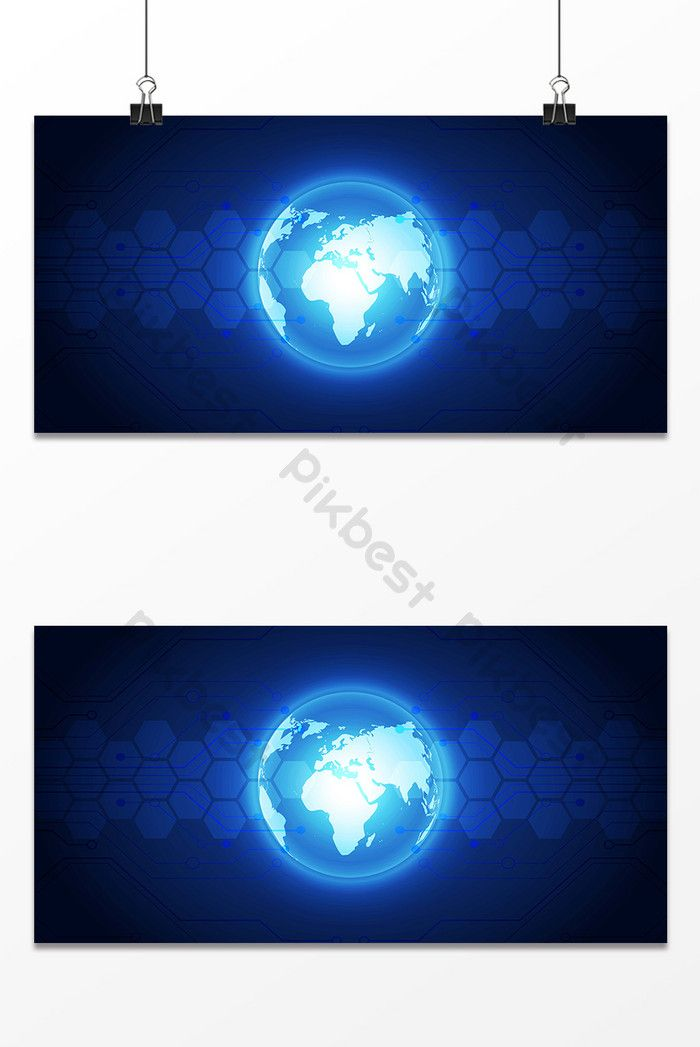 وهج الأزرق تصميم خلفية الخريطة خلفيات Ai تحميل مجاني Pikbest Background Images Design Blue