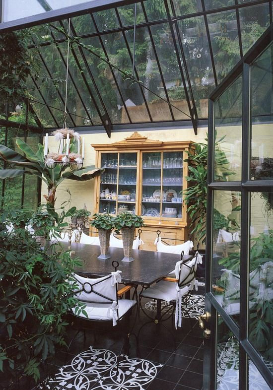 beautiful sunroom/conservatory