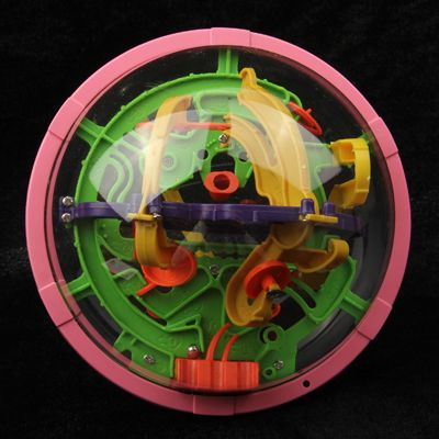 [$1.73] Magical Intellect Marble Puzzle Ball Amazing Balance Toy IQ Trainer Game for Kids Children