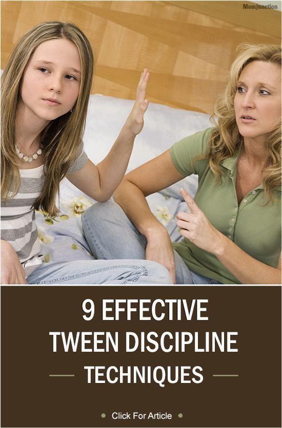 9 Effective Tween Discipline Techniques: Following tween discipline techniques can help you inculcate good virtues and discipline in your dear little one. Here, we look at some tween discipline techniques. #Parenting