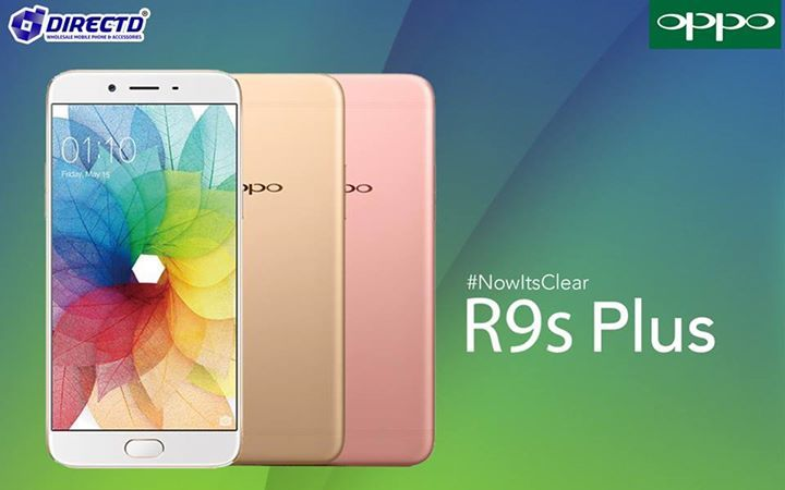 """LATEST ARRIVAL!! Oppo R9s Plus is now available at DirectD!  Price is RM2498 or RM208 X 12 months!Original set comes with a 1 year original warranty by Oppo Malaysia.  Key features: 6"""" Full HD display, Snapdragon 653 processor, 6GB RAM, 64GB ROM with MicroSD card slot, 16MP rear camera, 16MP front camera, Android 6.0, 4000 mAh battery, Dual SIM, 4G and many more!  Online order👉 http://www.directd.com.my/oppo-r9s-plus  Or walk in to any of our outlets below:  DirectD Gadget Mega Store  Lot…"""