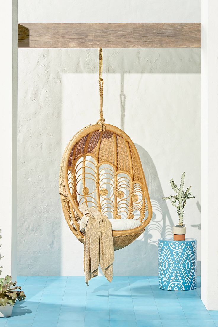 Peacock Indoor Outdoor Hanging Chair In 2020 Hanging Chair Hanging Furniture Chair