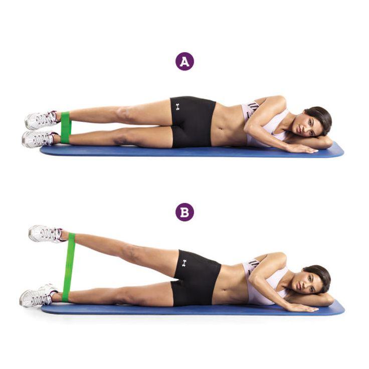 Band Side Leg Raise http://www.prevention.com/fitness/trainers-top-exercises-for-inner-thighs/band-side-leg-raise