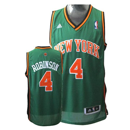 ... Adidas New York Knicks 4 Nate Robinson Green Swingman NBA Jersey ... 9ad7de386