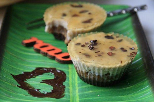 Кокосово-банановые пирожные