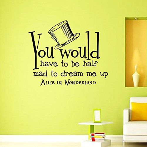 25 best Alice in Wonderland | Wall Decals | Home Decor images by ...
