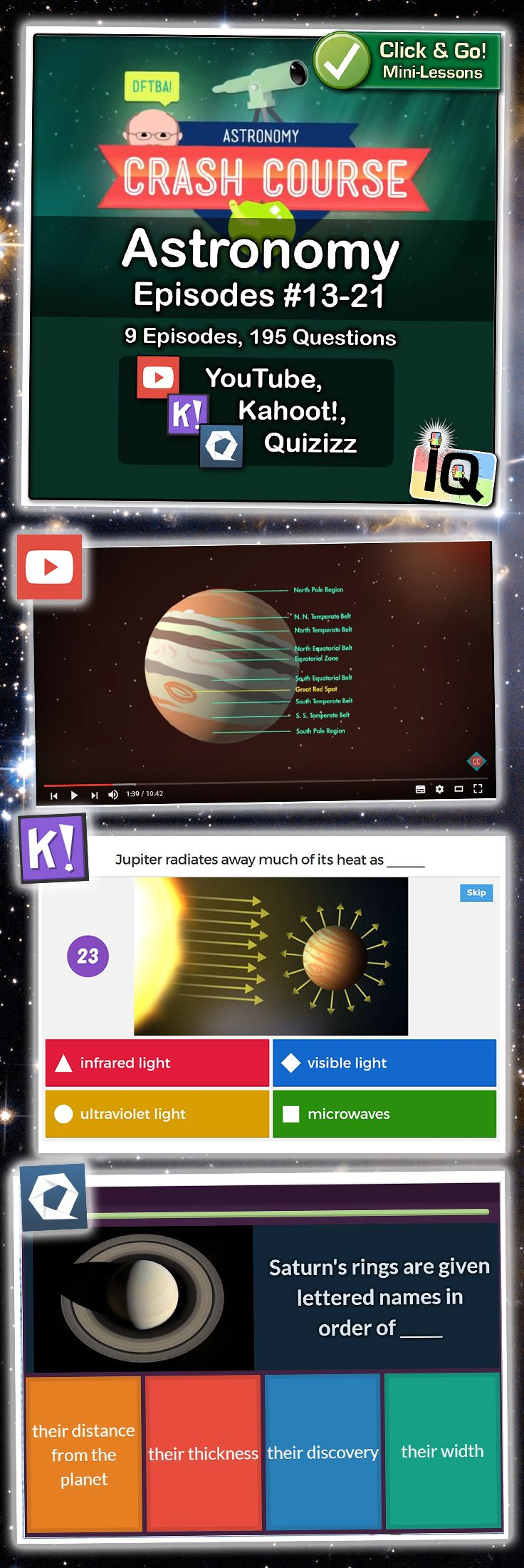 Point and Click for instant Mini-Lessons with Game-Based Assessment!  �   https://www.teacherspayteachers.com/Product/Crash-Couse-Astronomy-13-21-Interactive-Quizzes-2975742