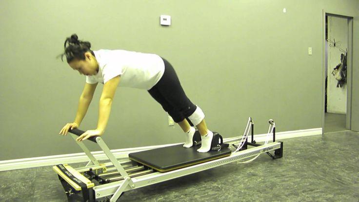 Pilates:  Reformer Plank Variations