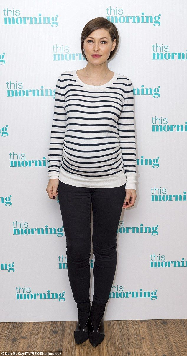 Emma Willis, 39, who is pregnant with her third child, reveals she won't be taking materni...