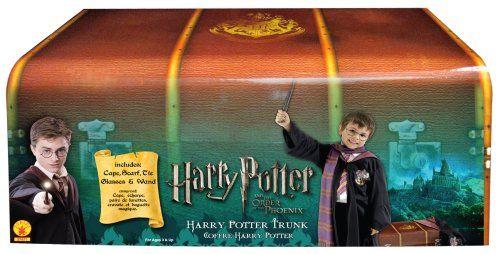 Amazon.com: Harry Potter Dress-Up Trunk: Clothing | Harry ...