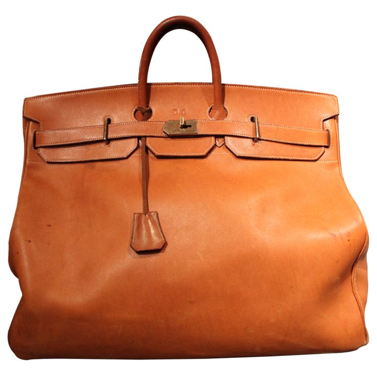 Amazing Hermes HAC Travel Bag | From a unique collection of antique and modern trunks and luggage at http://www.1stdibs.com/furniture/more-furniture-collectibles/trunks-luggage/