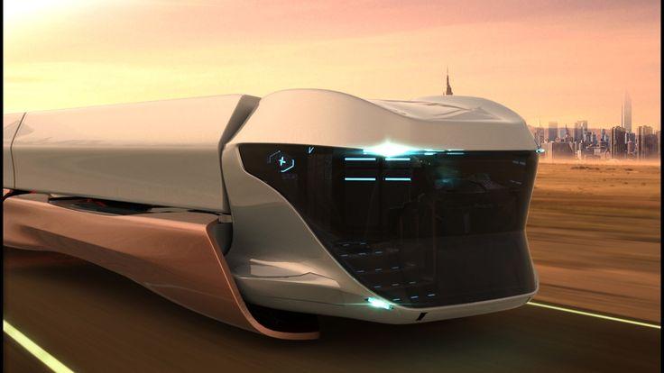 Pictures Of Future Trucks: Scania Maglev Future Truck Concept