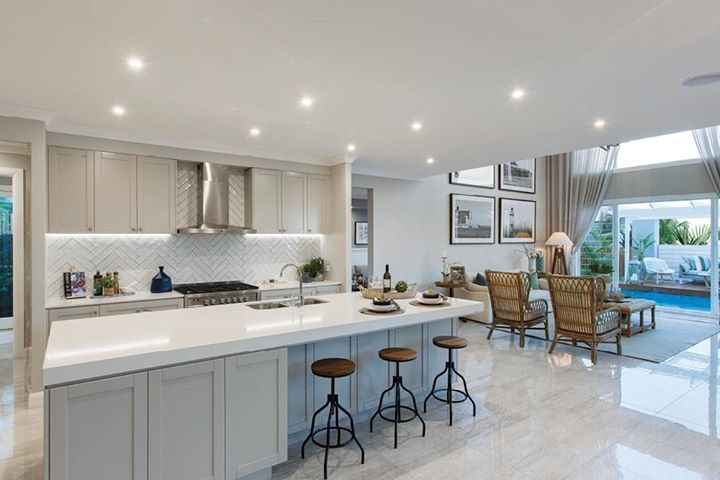 Hamptons shaker kitchen
