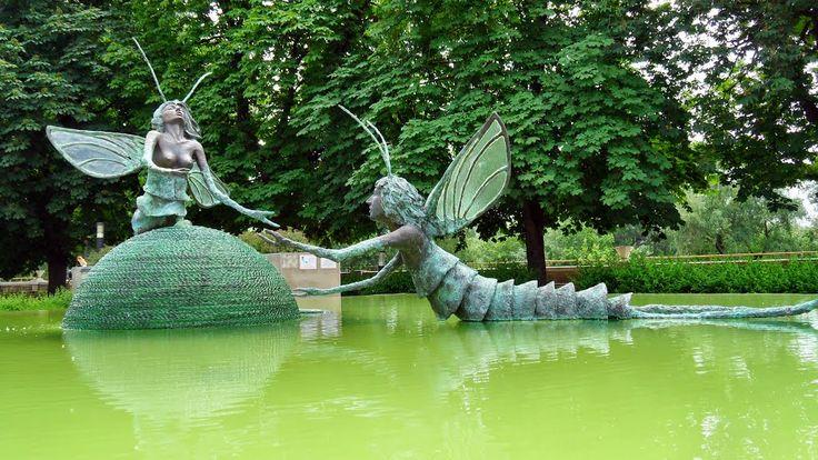Szolnok, Tiszavirág szobor