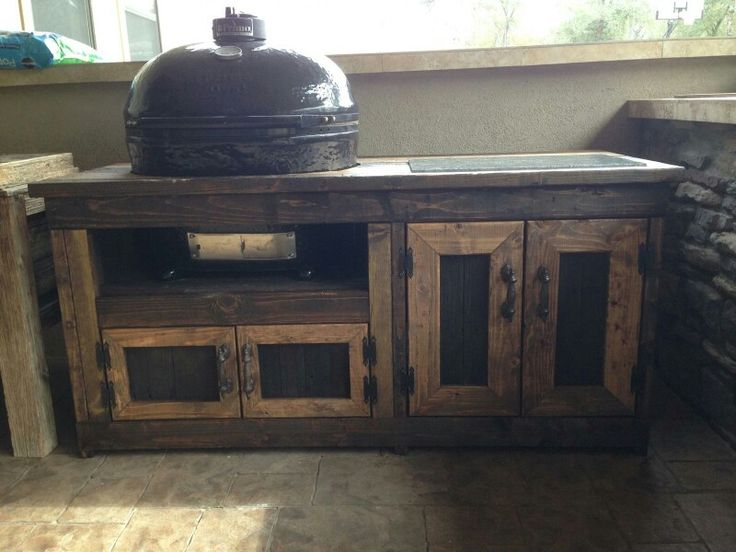 Custom Grill Table For Primo XL