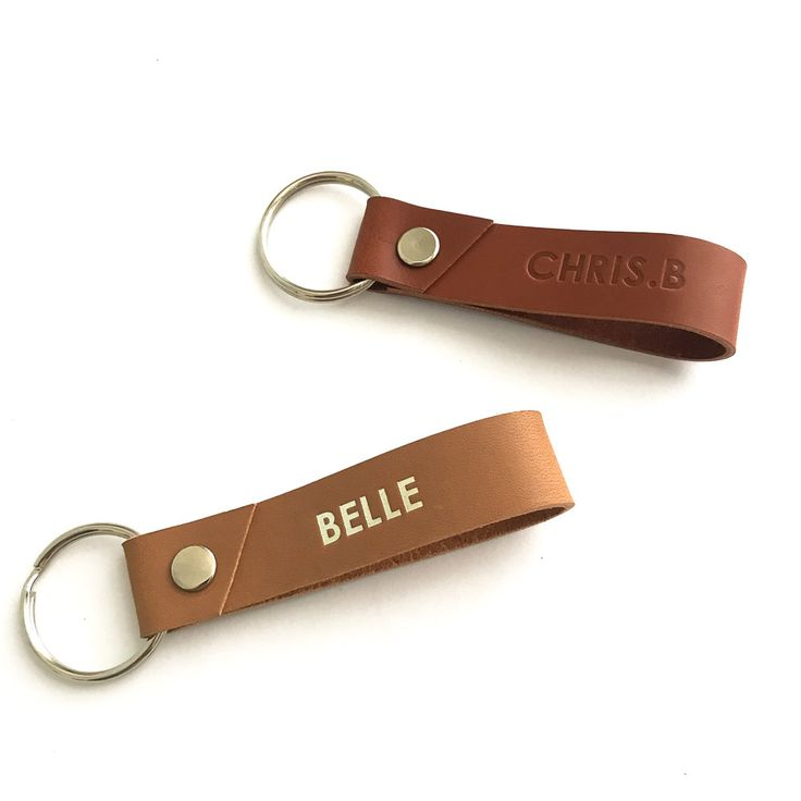 Leather keychain, custom, personalised, key fob, key chain, mothers day, housewarming gift, best friend gift, bridesmaid gift, gift for him by TASHMATIC on Etsy