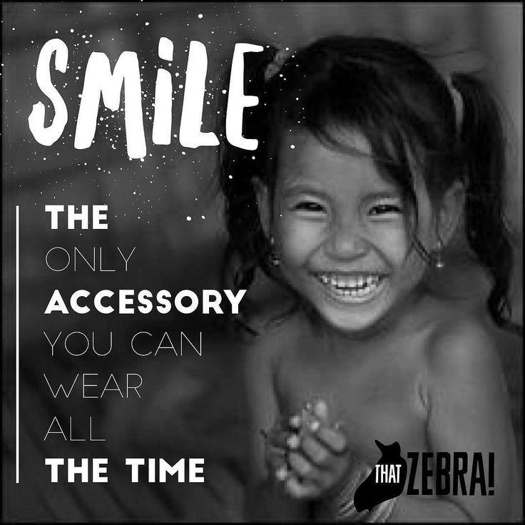 #smile #mindfulness #abundance #happy #lovelife #quoteoftheday @thatzebraclothing