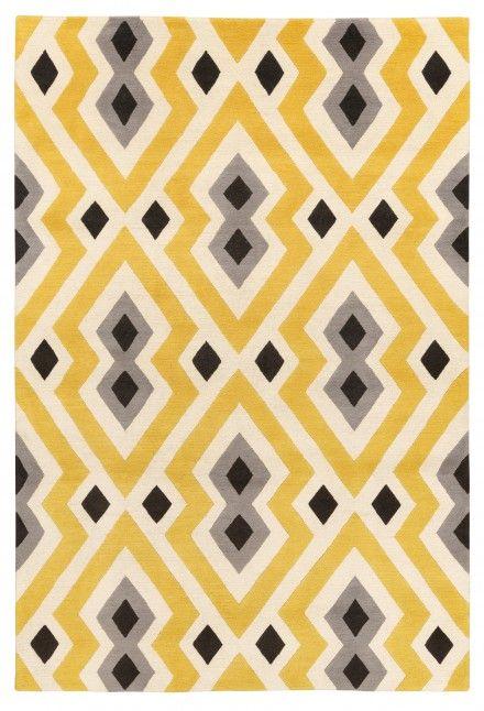Syrie Yellow Rug by Jonathan Adler  The Rug Company