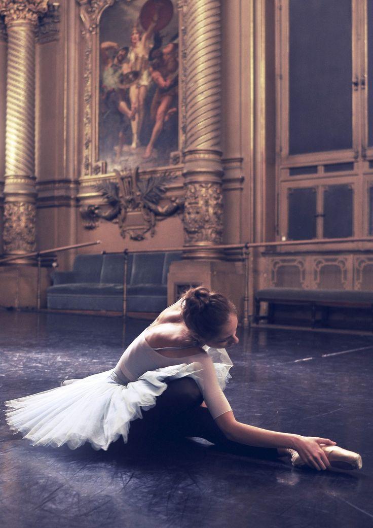студийная фотосессия балерины применяются
