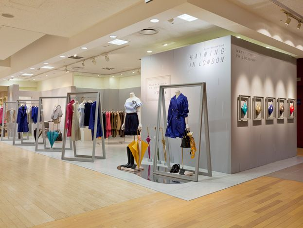 Retail Design | Shop Design | Fashion Store Interior Fashion Shops | RAINING IN LONDON|Tokyo06.2011