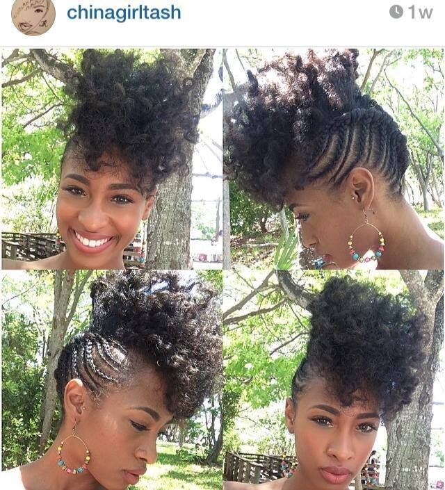 Awesome 1000 Images About Cute Cornrow Braids On Pinterest Mohawks Short Hairstyles For Black Women Fulllsitofus
