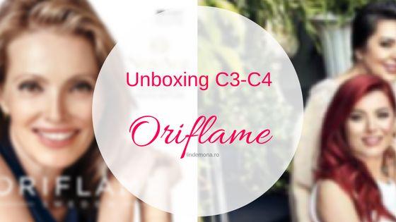 Unboxing Oriflame C3 + C4 2017