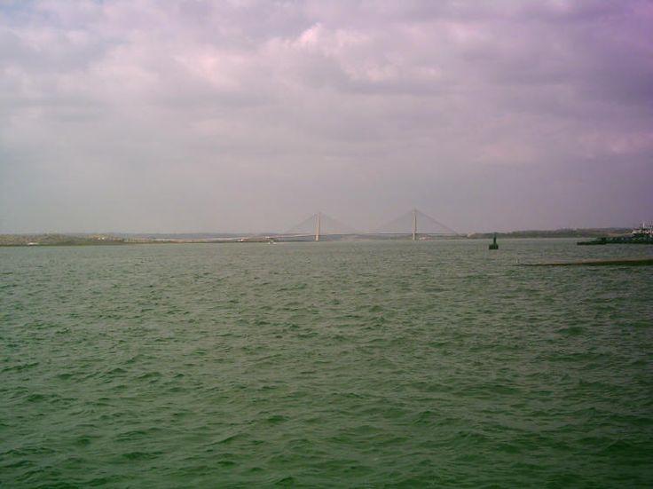 Puente de Europa desde Ayamonte, Huelva