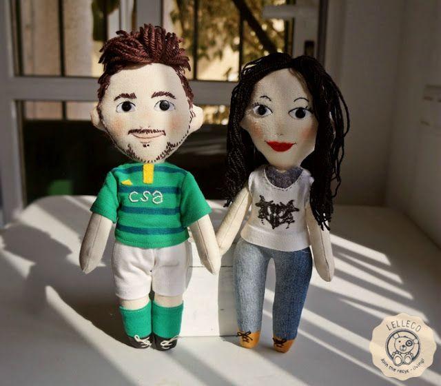 Lelleco Blog: dos muñecos personalizados