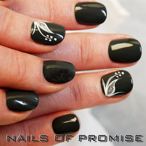 Simple Nail Art by nailsofpromise from Nail Art Gallery