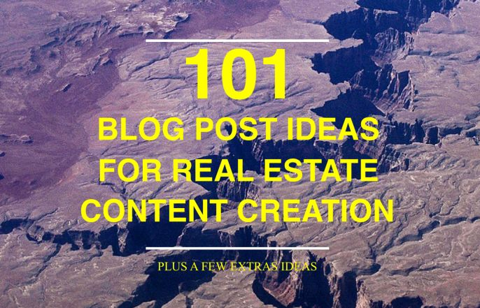 The Ultimate Idea List for Real Estate Blog Posts You Could Start Using Today Creating a blog that people actually want to read and share is a...