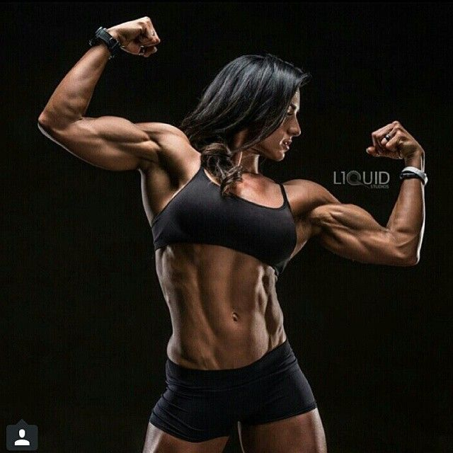 Female #Bodybuilder Heather Dees shows off her awesome # ...
