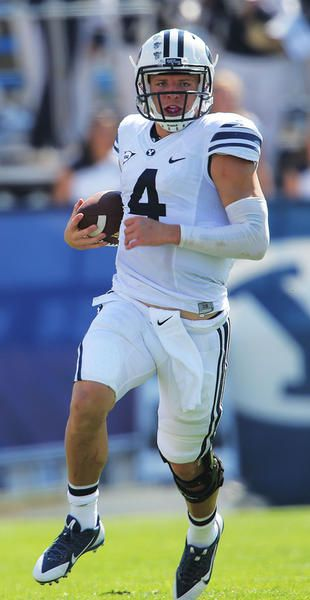 Taysom Hill Three Star Quarterback 2009 Byu Football Re