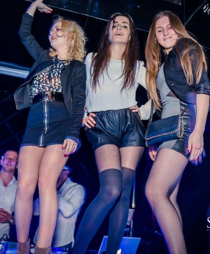 Dancing girls like to wear tights.