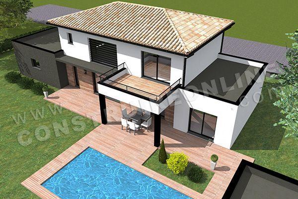 Plan De Maison Etage Moderne Valori 4 Plan De Maison Etage Moderne Valori 4 Etage Maison Modern In 2020 Sims House Plans Sims House Design Sims 4 House Design