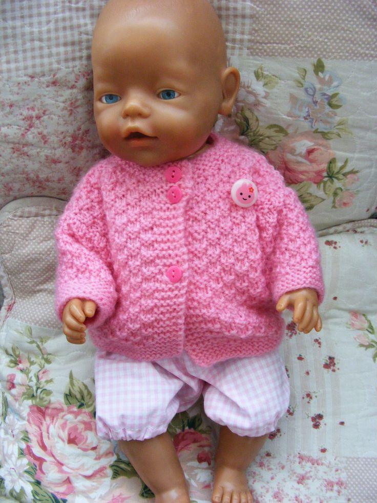 143 besten babyborn Bilder auf Pinterest | Strickmuster, Frühchen ...