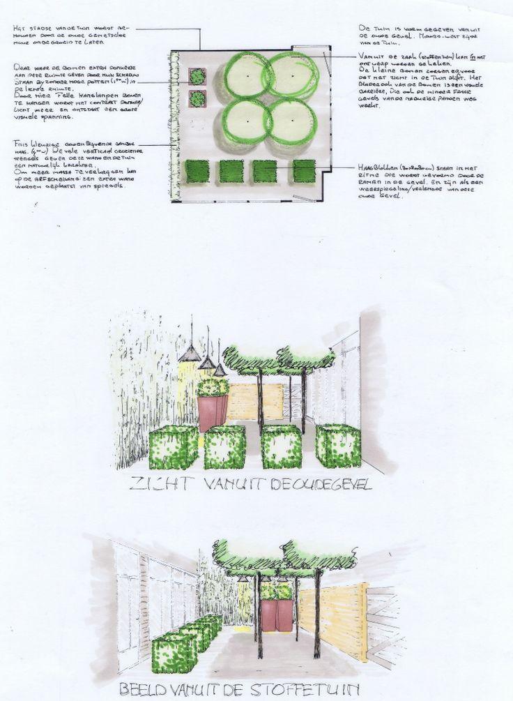 Stadstuin Leeuwarden. Buitenruimte van een meubel en interieurwinkel (Slauerhoff) Ontwerp 2001 IJsbrand Maaskant