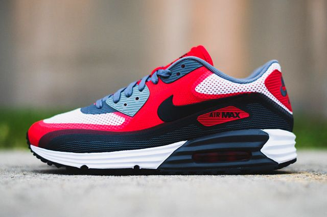 NIKE AIR MAX 90 LUNAR (UNIVERSITY RED) | Sneaker Freaker