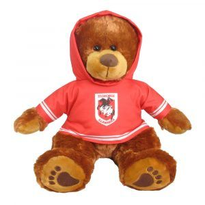 Dragons Plush Toys Supporter t-shirts with hood printed with team colours and logos