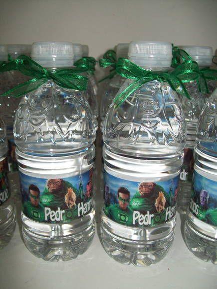 Garrafinha de Água Personalizada no tema da sua festa Contém 200ml, Sem Gás