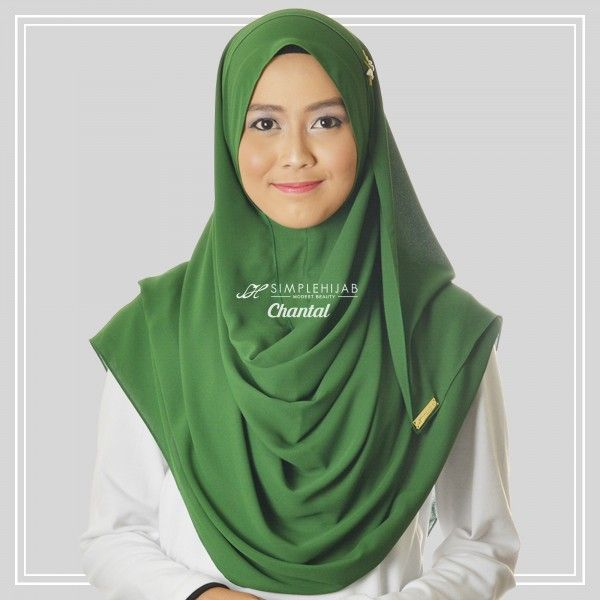 "A must have collection in your wardrobe!Get this fabolous item ""Chantal In Forest Green"" @ http://simplehijab.co/item/88-chantal-in-forest-green?id=14705"