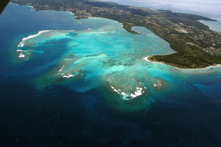 Buccoo Reef, in Tobago the twin island of Trinidad. One country two islands Trinidad & Tobago.