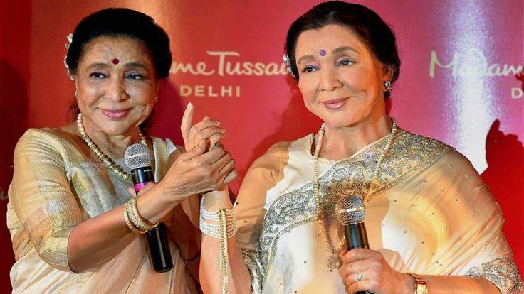 Bhosle Unveils Wax Statue