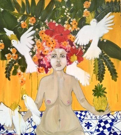 Abigael Whittaker    This is my Childhood Garden - 2012