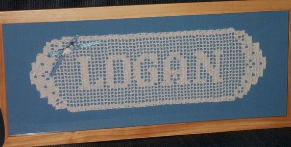 17 Best images about crochet name doilies on Pinterest ...