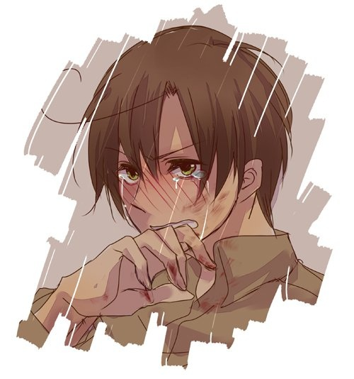I hope I'm not the only one who thought this was Eren from attack on Titan at first