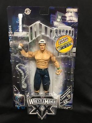 WWE Jakks Wrestlemania XX JOHN CENA  Action Figure 2004 - WINNER - RARE - 215