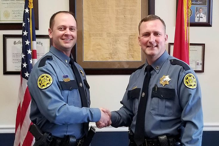 Montgomery county sheriffs office promotes mark wojnarek