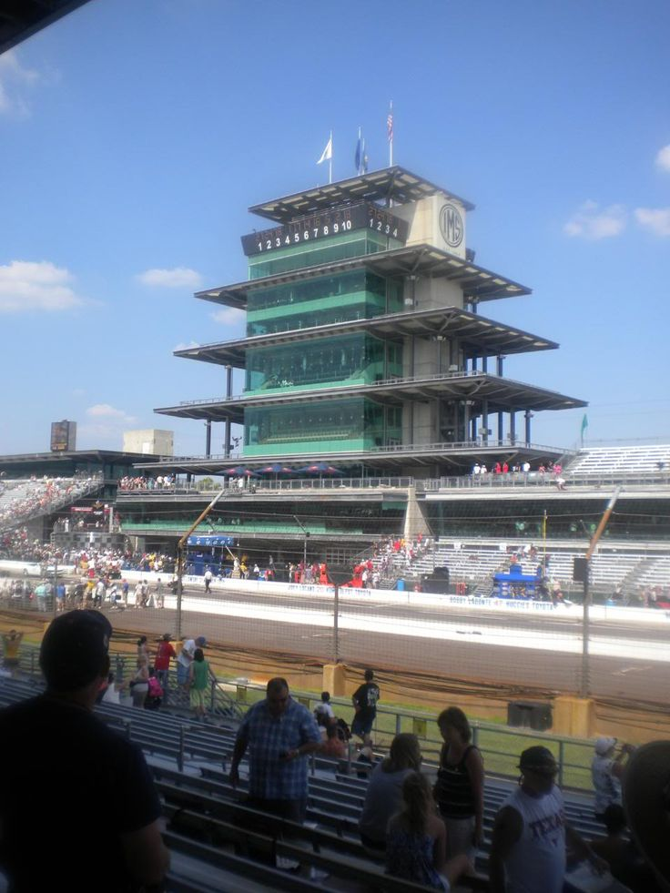 Indianapolis Motor Speedway, Pagoda